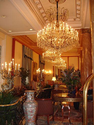 Le Pavillon Hotel Lobby, New Orleans LA
