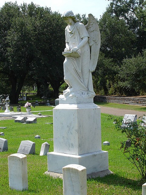 Natchez Drug Company / Turning Angel, Natchez City Cemetery, Natchez MS