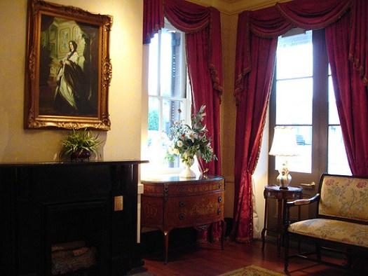 Sitting Area of Lobby, St. James Hotel, Selma AL