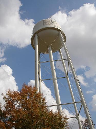Water Tower at Mound Bayou, MS