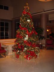 Christmas Tree in Lobby at Perdido Beach Resort, Orange Beach AL