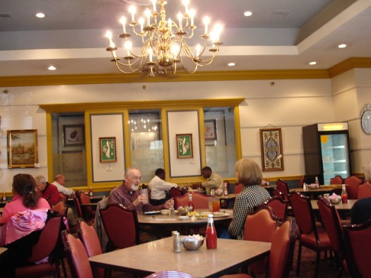 Dining Room at Belle Meade Cafeteria, Nashville TN