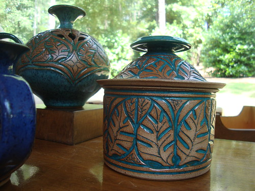 Susan Brown Freeman Pottery at Art in the Park, Aldridge Gardens, Hoover AL