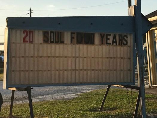 20 Soul Food Years, Faye's Bar-B-Que, Sylacauga AL