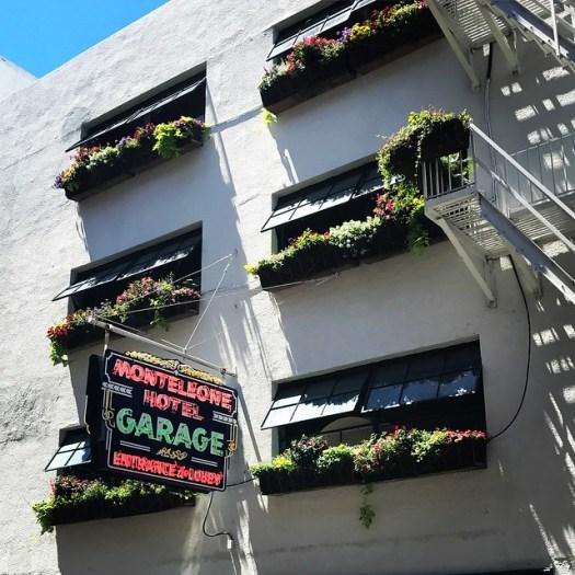 Monteleone Hotel Garage Neon Sign, New Orleans