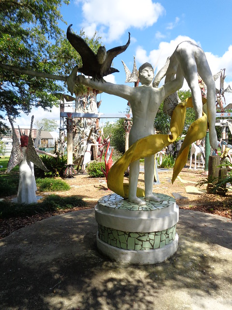 Kenny Hill Sculpture Garden, Chauvin LA