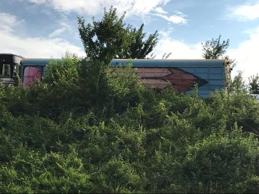 School Bus Graveyard, Alto GA