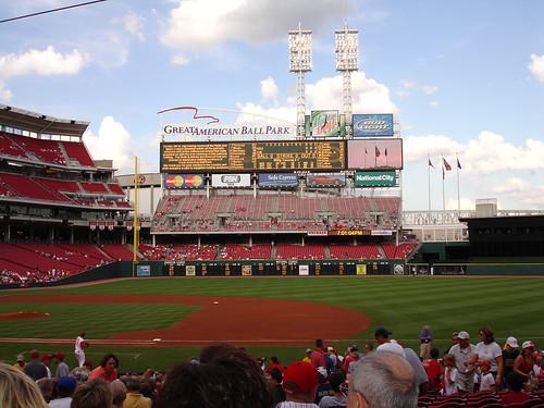 Great American Ball Park in Cincinnati
