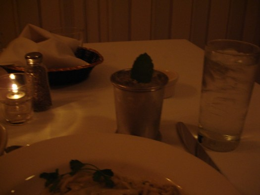 Mint Julep, Giardina's, Greenville MS