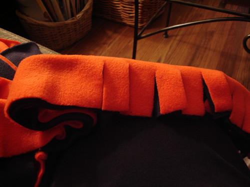 Craft: Fleece Scarf