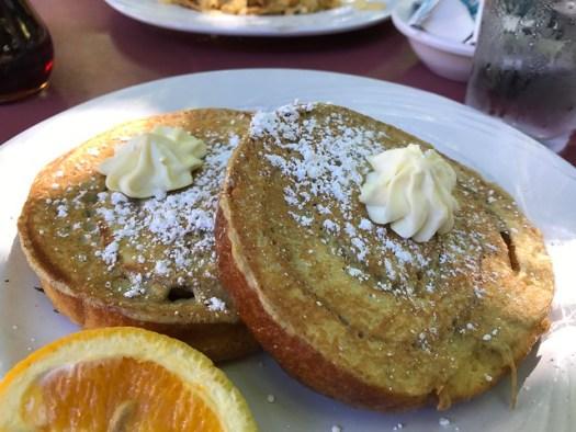 Cinnamon Roll French Toast, Ruth's Diner, Salt Lake City UT