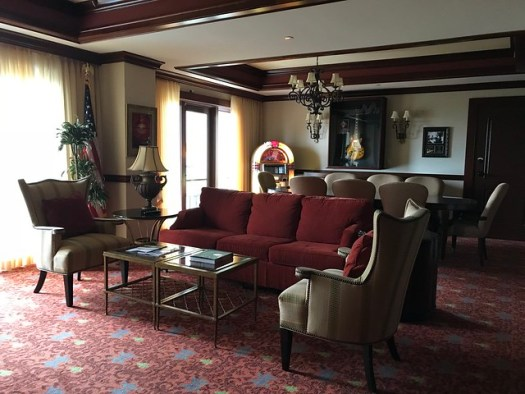 Governor's Suite, Marriott Shoals Hotel, Florence AL