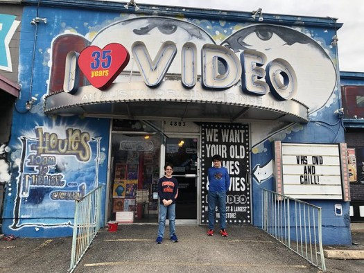I LUV Video, Austin TX