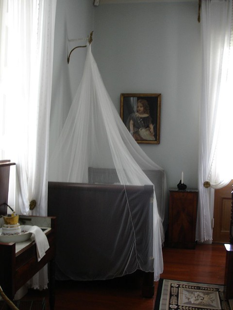 Bed with Mosquito Netting, Oak Alley Plantation, Vacherie LA