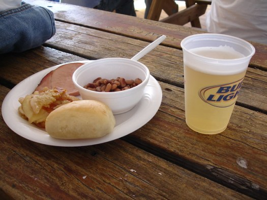 New Year's Lunch at the Flora-Bama for Polar Bear Participants, Perdido Key AL/FL