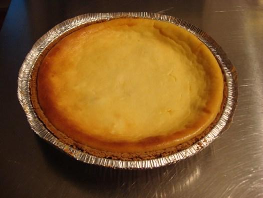 Yum!  Creole Cream Cheese Cheesecake