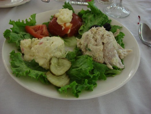 Queen's Salad from Carriage House Restaurant at Stanton Hall, Natchez MS