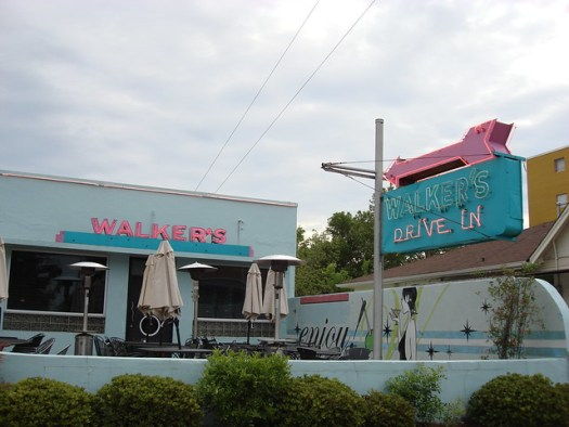 Walker's Drive-In Restaurant, Jackson MS