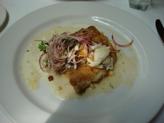 Pecan Crusted Fish, Commander's Palace, New Orleans LA