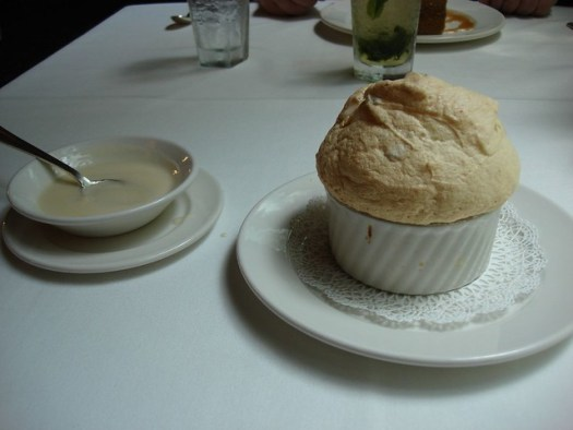 Bread Pudding Souffle, Commander's Palace, New Orleans LA