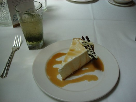 Creole Cream Cheese Cheesecake, New Orleans LA