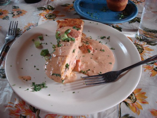 Seafood Cheesecake, Jacques-Imo's, New Orleans LA