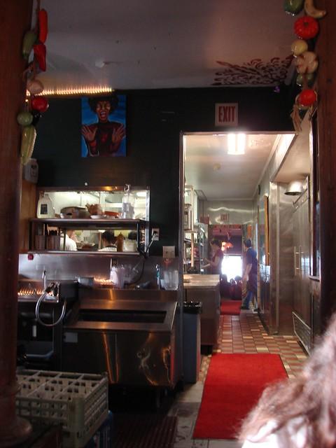 Kitchen, Jacques-Imo's, New Orleans LA