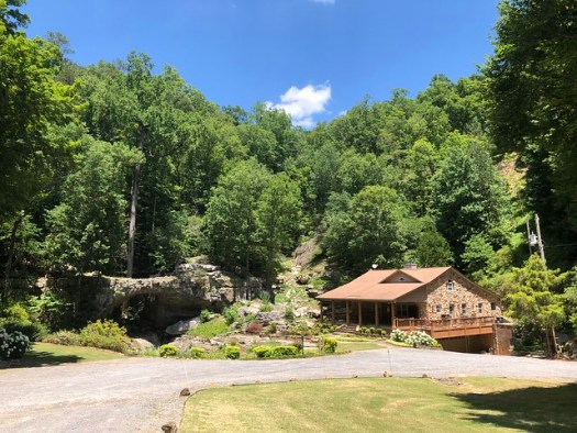 House with its own Natural Bridge, Grant AL