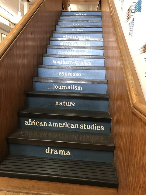 Staircase, Square Books, Oxford MS
