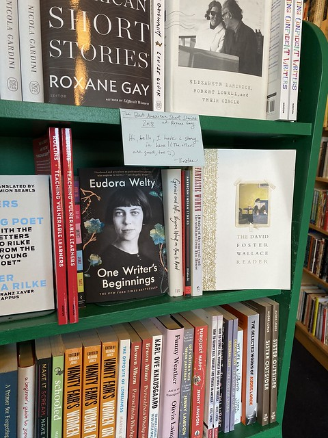 Eudora Welty, Thank You Books, Birmingham AL