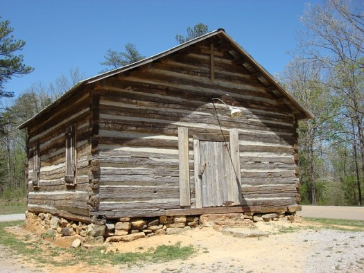 Pine Torch Church, Circa 1850, Bankhead National Forest AL