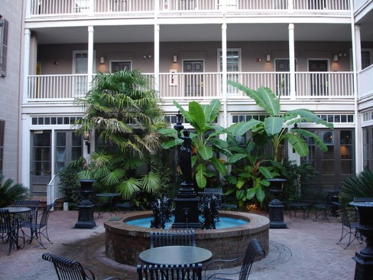 Courtyard at St. James Hotel, Selma AL
