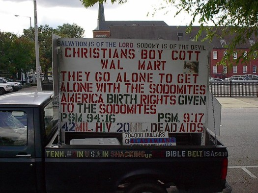 Truck with Religious Message, Montgomery AL #03
