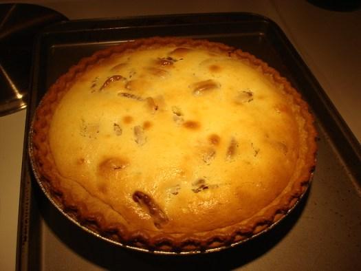 Sour Cream Pecan Pie