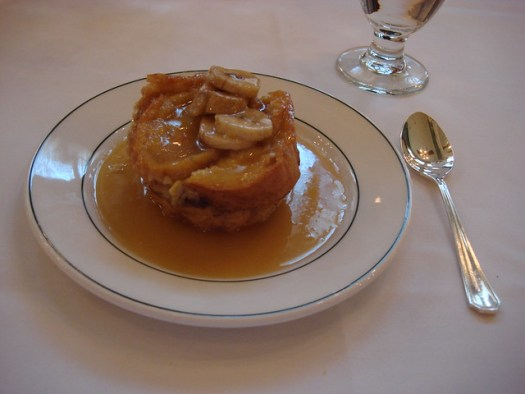 Banana Bread Pudding, Galatoire's, New Orleans LA