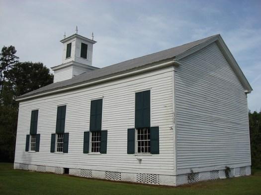 C. 1837 Presbyterian Church, Gainesville Alabama