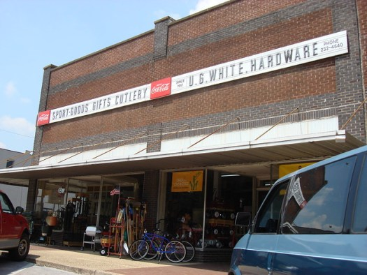U.G. White Hardware Store, On the Square in Athens Alabama