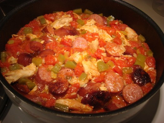 Making Creole Jambalaya Pic 3 of 4