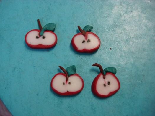 Sculpey Apples