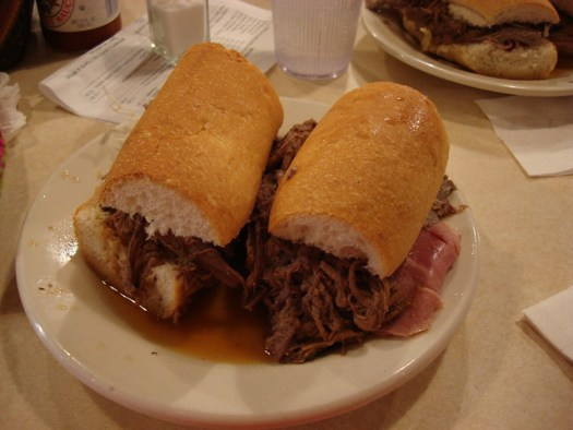 The Ferdi Special at Mother's, New Orleans LA