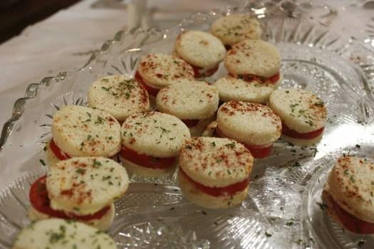 Vicksburg Tomato Sandwiches, BB Club, Vicksburg MS