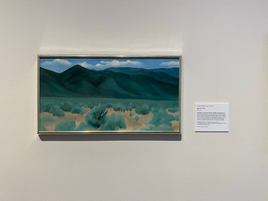 Georgia O'Keeffe, Hills Before Taos, Montgomery Museum of Fine Arts, Montgomery AL