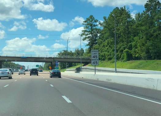 Memphis Speed Limit Is Exactly 45MPH