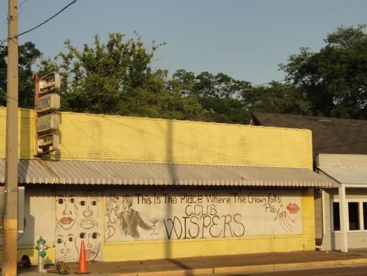 Club Wispers, Greenwood MS