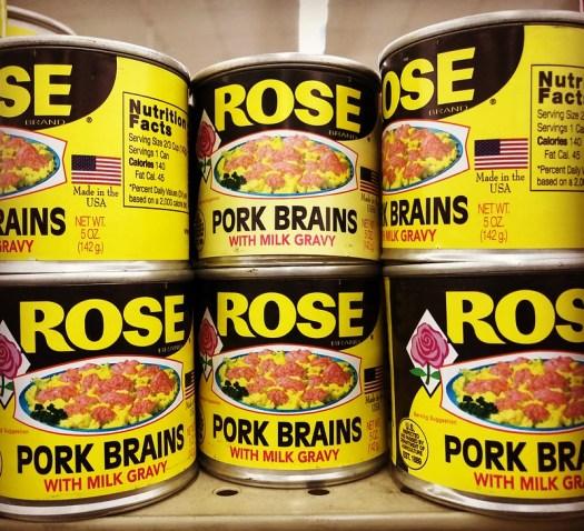 Rose Pork Brains