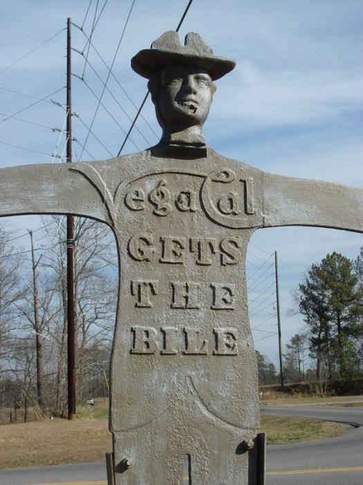 Vegacal Ironman Statue, Hartselle AL