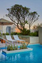 Westin hotel succulents