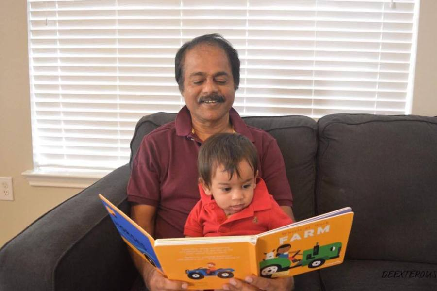 Inculcate the habit of seating your baby on your lap and reading to them. This nurtures the love for reading and makes for a lovely bonding experience.