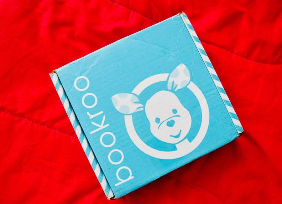 The recycled and recyclable packaging of the Bookroo boxes