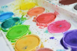 Painting is one of the most fun summer activities for kids